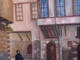 """title=""""<b>Старый Дамаск</b><br />Холст, масло, 50х35, 2007г."""""""