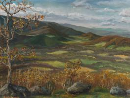 "title=""<b>Национальный парк Шенандоа. Вирджиния</b><br />Холст, масло, 36х46, 1997г."""