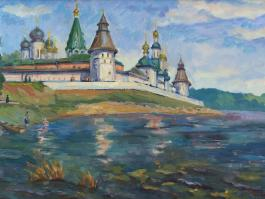 "title=""<b>Макарьевский монастырь</b><br />Холст, масло, 40х60, 2011г."""