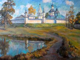 """title=""""<b>Бобренев монастырь.</b><br />Холст, масло, 60х80, 2010г."""""""